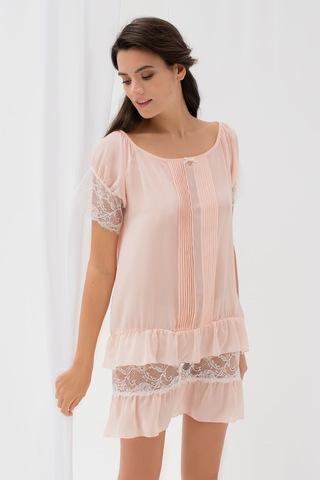 LAETE Ночная сорочка легкая с кружевом 62085
