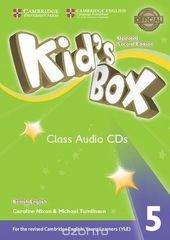 Kid's Box Updated edition 5 Class Audio CDs (3)