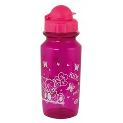Велобутылка FORCE BEAR 0,5 л школьная, фиолетовый