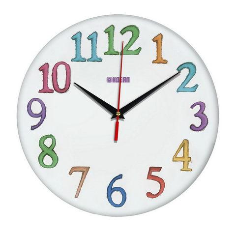 Детские настенные часы с дизайном