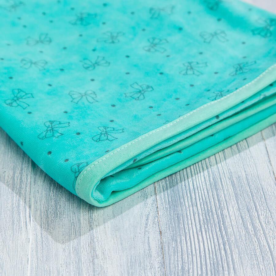 Одеяло велюровое для новорожденных