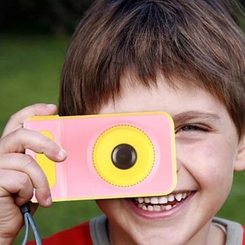 Детская цифровая камера фотоаппарат 3MP Photo Camera Kids Mini Digital Розовая