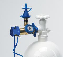 Классическая насадка с измерителем давления, с плавным нажатием (для латексных шаров)