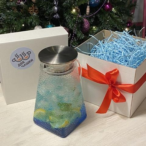 Упаковка чайника в подарочную коробку