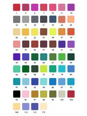 Mazari Artist набор маркеров для скетчинга 60 шт двусторонние акварельные пуля/кисть 0.4-3.5 мм
