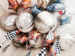 Большие мраморные шары