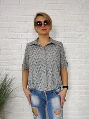 Блузка Kopka рубашка горошек к/р