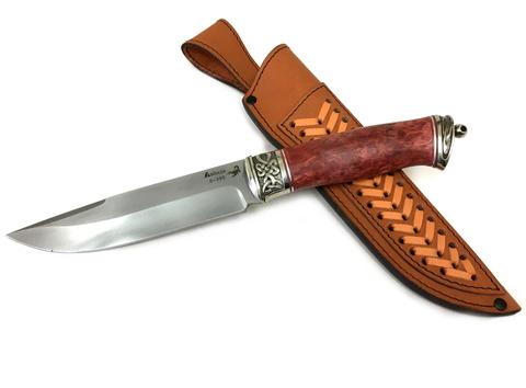 Нож Скорпион, BOHLER S390, стабилизированная карельская береза