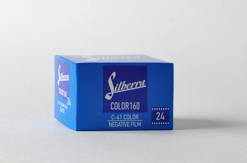 Silberra COLOR 160 C-41 ISO 160 24exp