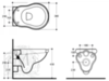 Унитаз подвесной Migliore Bella  ML.BLL-25.140.BI