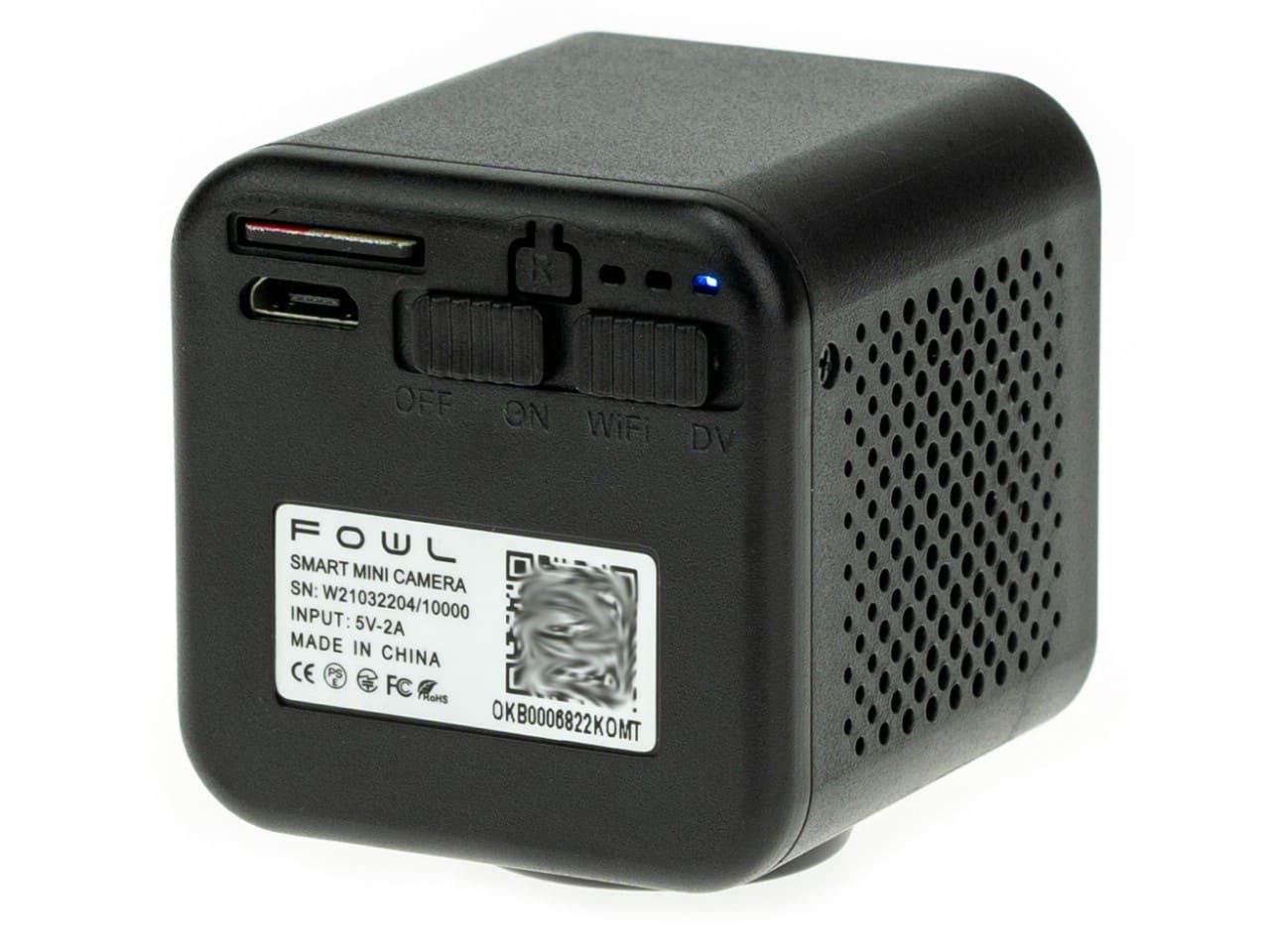 Wi-Fi мини камера Ambertek Q85S FOWL