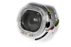 Маска для билинз Z129 LED Cree + анг.глазки+блок питания
