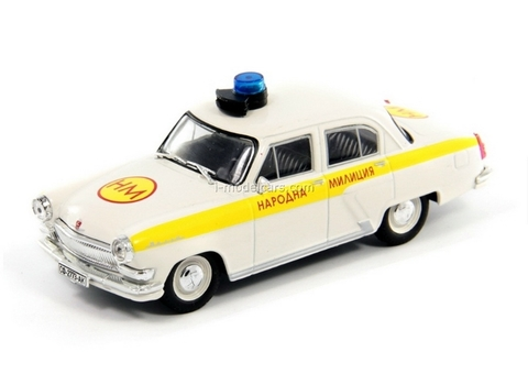 GAZ-21 Volga Bulgaria People's Militia 1:43 DeAgostini World's Police Car #37