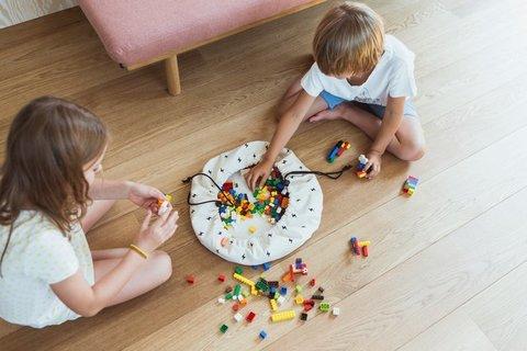 Коврик-мешок для игрушек Play&Go. Коллекция Mini. Молния