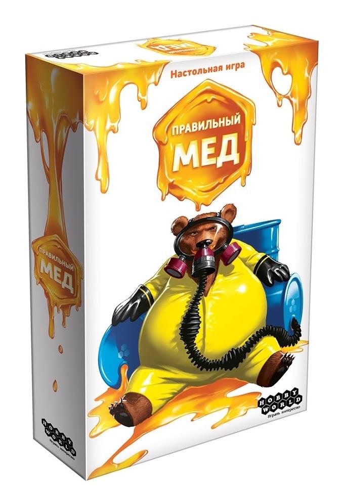 Настольная игра Правильный мёд