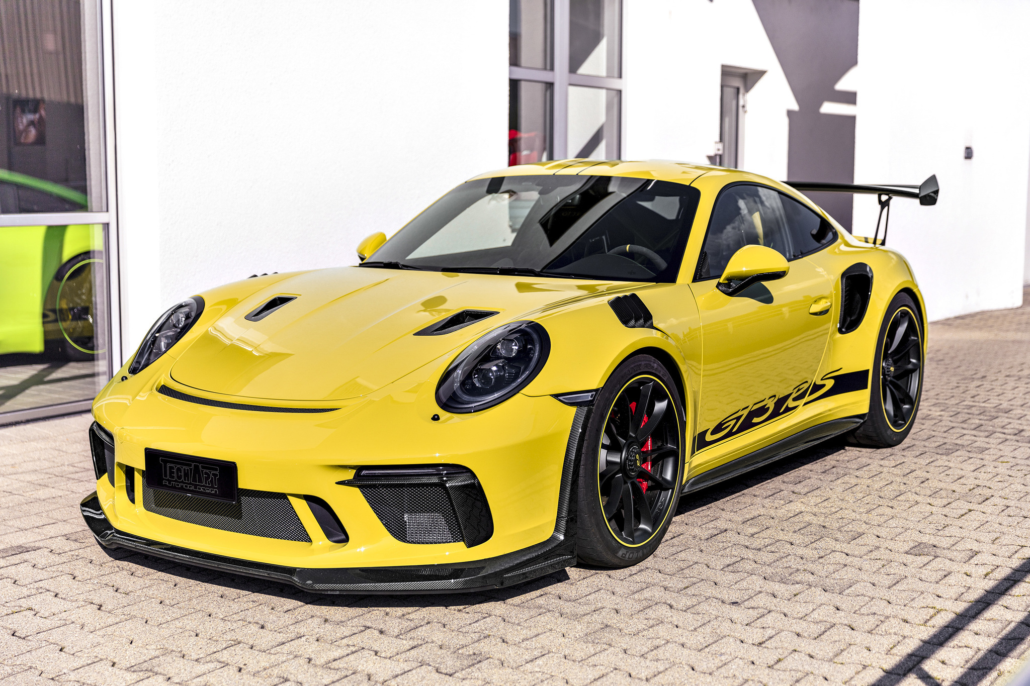 Techart Carbon body kit for Porsche 911 GT3