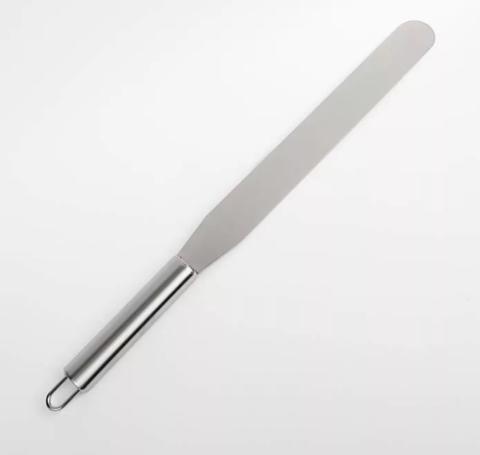 Палетка прямая, нерж. сталь, лезвие 20*3 см