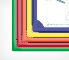 Рамка для перекидной системы INFOFRAME A4, синий