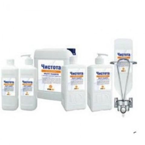 Жидкое мыло Чистота с антибактериальным эффектом 500 мл