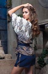 Комплект Mia-Mia синие шорты