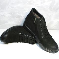 Зимние ботинки мужские классические Luciano Bellini 71783 Black.