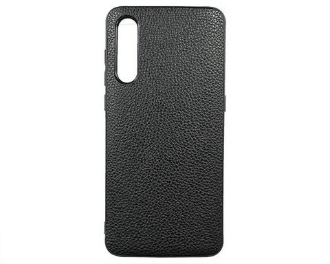 Чехол для Xiaomi Mi 9 экокожа | черный
