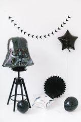 Фольгированный шар шлем Дарта Вейдера