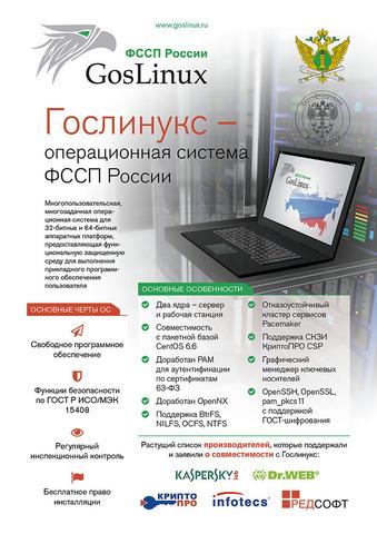 Гослинукс (с базовой технической поддержкой) для сервера