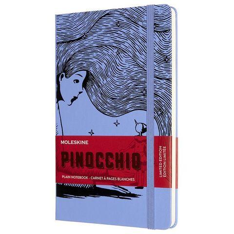 Блокнот Moleskine LE PINOCCHIO The Fairy (LEPIQP062C) 130х210 мм, 240 стр. без линовки, фиолетовый/черный
