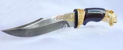 Дамасский нож Пантера