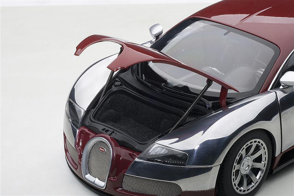 Коллекционная модель Bugatti EB Veyron 16.4 L`Edition Centenaire 2009 Italian Red