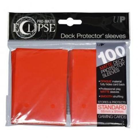 UP Sleeves PRO-Matte Eclipse Apple Red