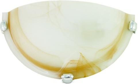 Светильник декоративный СД 1*60 Вт E27 полукруг янтарный (в разборе) TDM