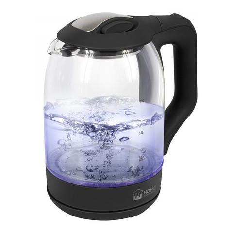 Чайник стеклянный HOME ELEMENT HE-KT184 черный жемчуг