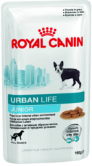 Пауч для собак любых размеров, Royal Canin Urban Life Junior