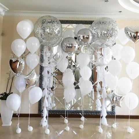 Сет из воздушных шаров Свадебный