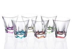 Набор стаканов для виски RCR Fusion Цветные 270 мл, 6 шт, фото 3