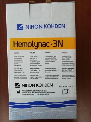 MEK-6801/MEK-680I Лизирующий реагент Хемолинак 3N (Hemolynac-3N MEK-680 I), 1 л - Nihon Kohden Firenze S.r.l., Италия (арт.MEK-680I)