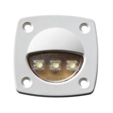 Светильник светодиодный для подсветки палуб и трапов, 57 х 57 мм
