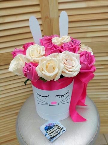 Цветы в коробке#16289