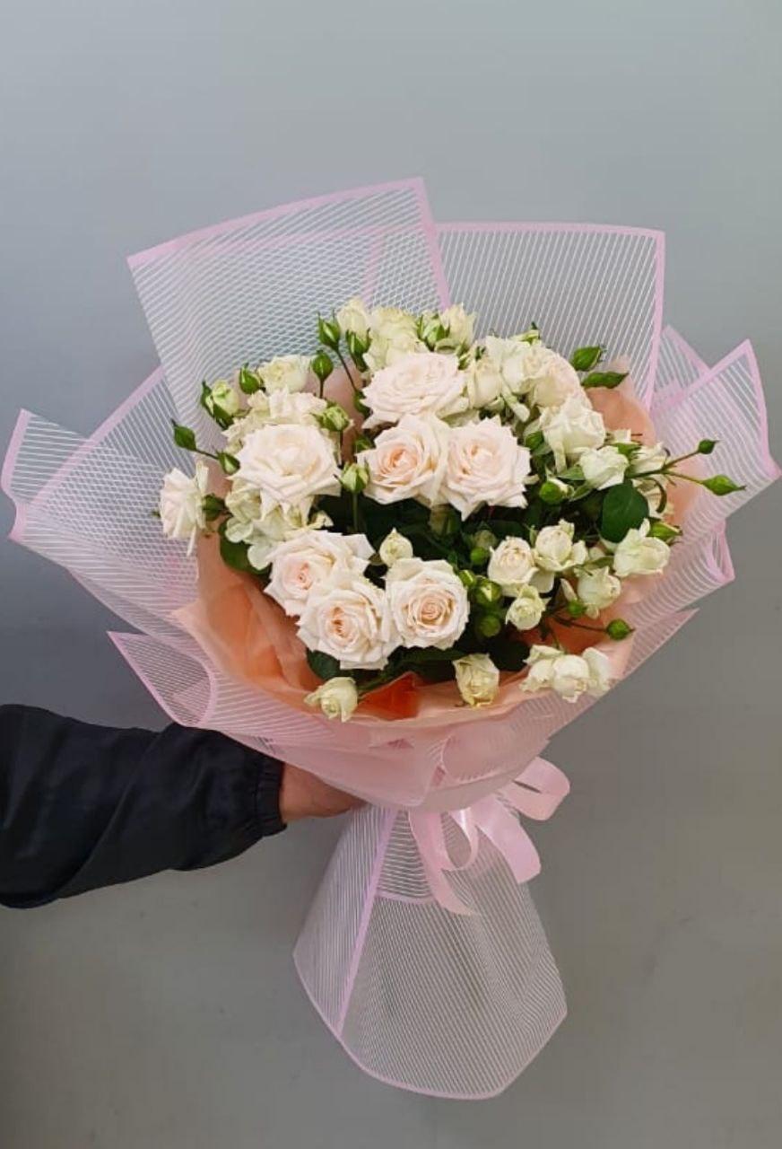 Букет Роза кустовая (Б-123)