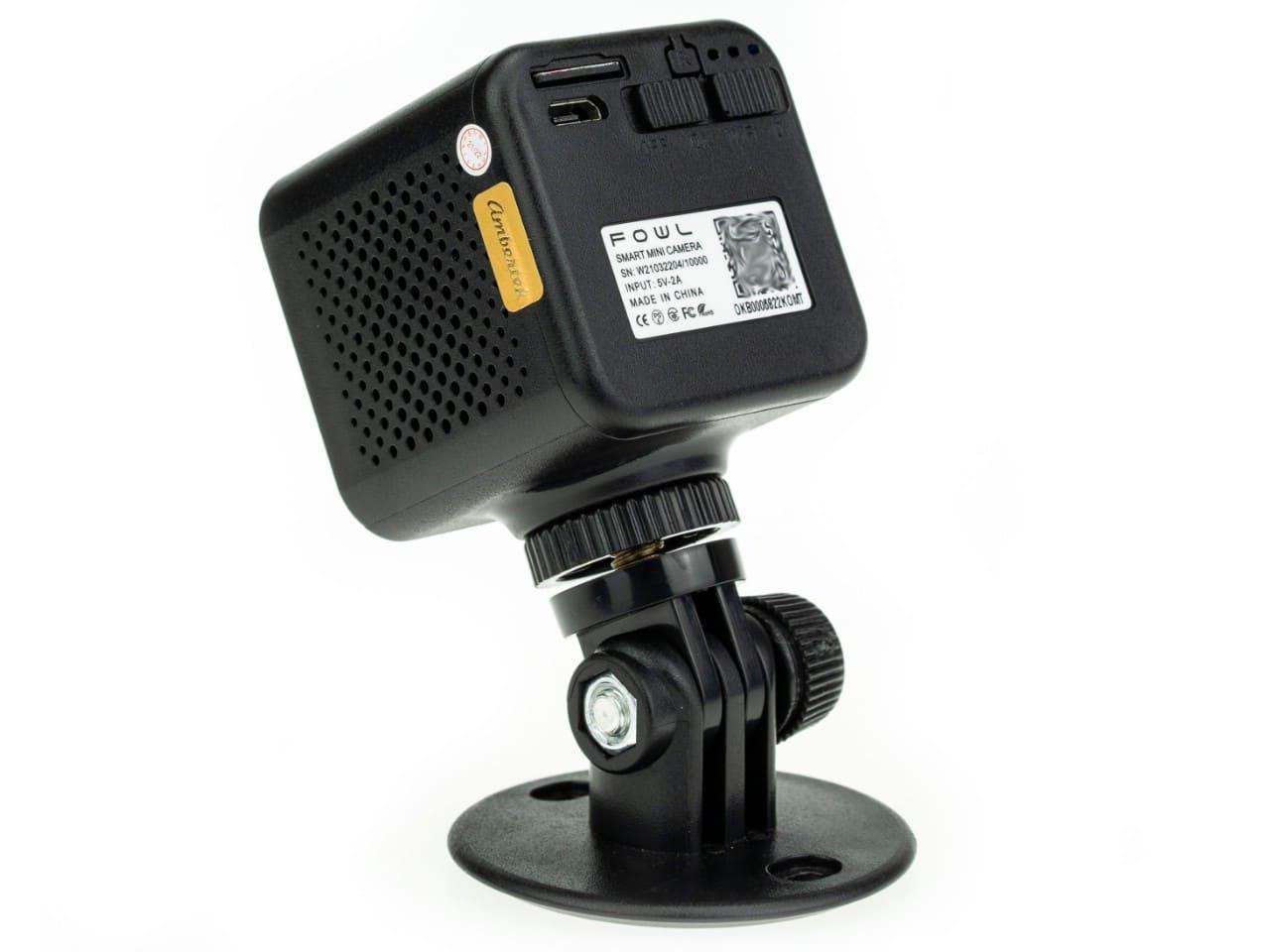 Wi-Fi IP мини видеокамера Ambertek Q85S FOWL