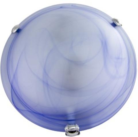 Светильник декоративный СД 2*60 Вт E27 круг голубой (в разборе) TDM