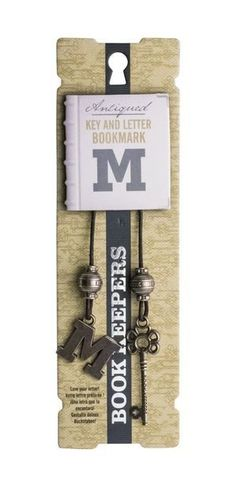 Bookmark Book Keepers  Letter - M