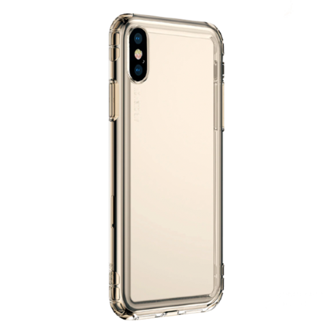Baseus / Чехол Safety Airbags Case для iPhone X/Xs | Золото