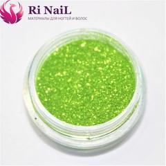 Дизайн для ногтей светло-зеленый.