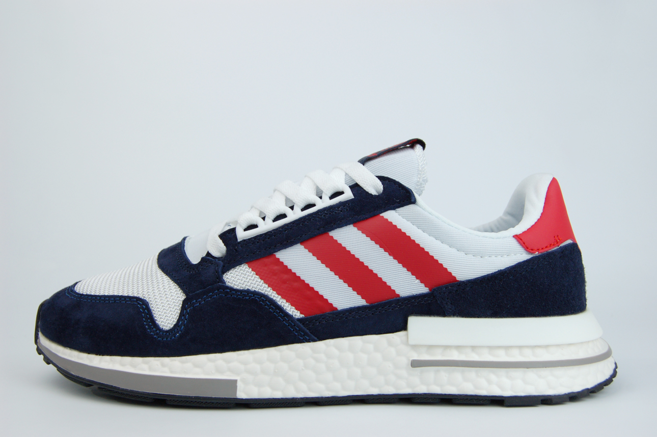 кроссовки Adidas ZX 500 Boost Navy Multi