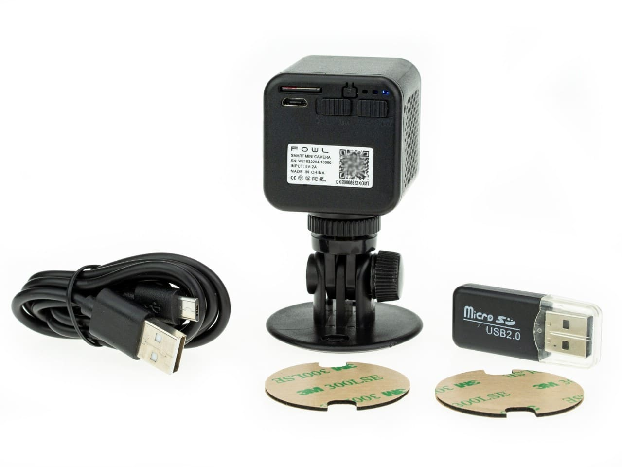 Wi-Fi мини видеокамера Ambertek Q85S FOWL
