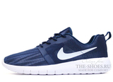 Кроссовки Мужские Nike Roshe Run SMR Obsidian White