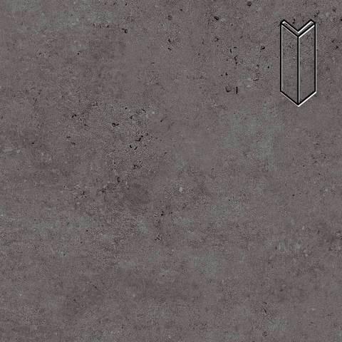 Stroeher - Gravel Blend 963 black 157х60х60x11 артикул 9000/9010 - Угловой клинкерный подступенок